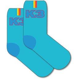 K3 Sokken 2-pack blauw