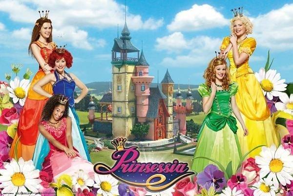 Poster Prinsessia 61x92 cm: kasteel