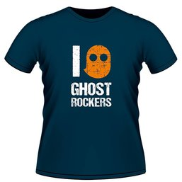T-shirt Ghost Rockers blauw