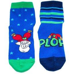 Sokken Plop: 2-pack blauw