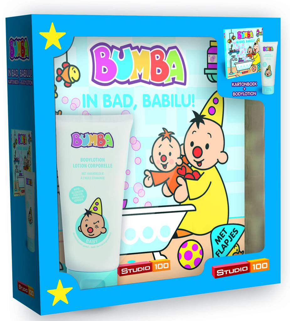 Bumba set - In bad Babilu! incl. bodylotion