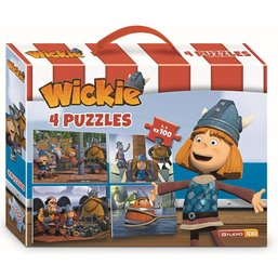 Wickie de Viking Puzzelkoffer