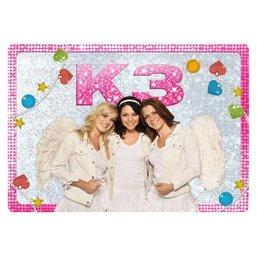 K3 Placemat - glitter