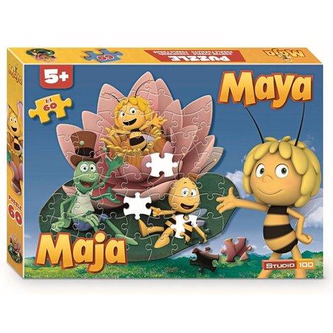 Maya de Bij Puzzel - Bloem 60 stukjes
