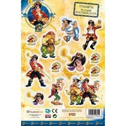 Piet Piraat Stickervel