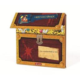 Piet Piraat Vriendenboek hout