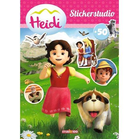 Album d'autocollants Heidi