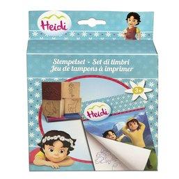 Jeu de tampons à imprimer Heidi