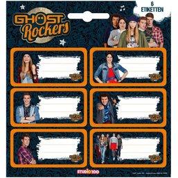Ghost Rockers Etiketten 6 stuks
