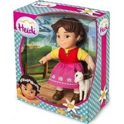 Poupée Heidi avec chèvre - 17 cm