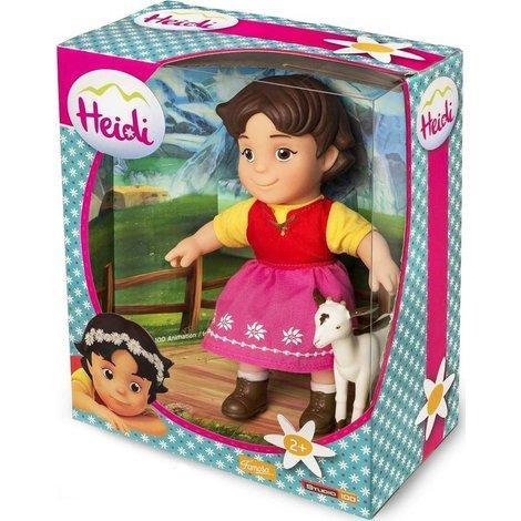 Pop Heidi: Heidi met geit 17 cm