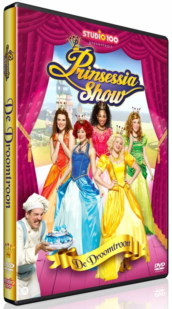 Dvd Prinsessia: de droomtroon