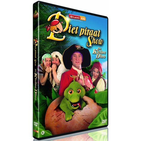 Dvd Piet Piraat: De kleine dino