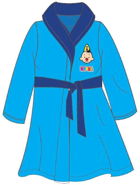 Badjas Bumba blauw