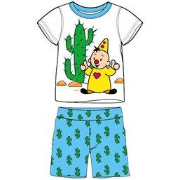Bumba Shortama blauw/wit cactus