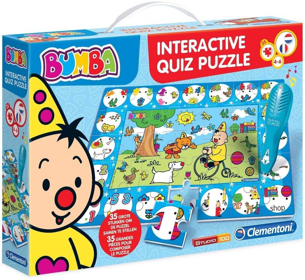 Bumba interactieve quiz puzzel Clementoni