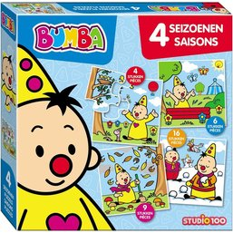 STUDIO100 Bumba 4 Seasons Puzzle