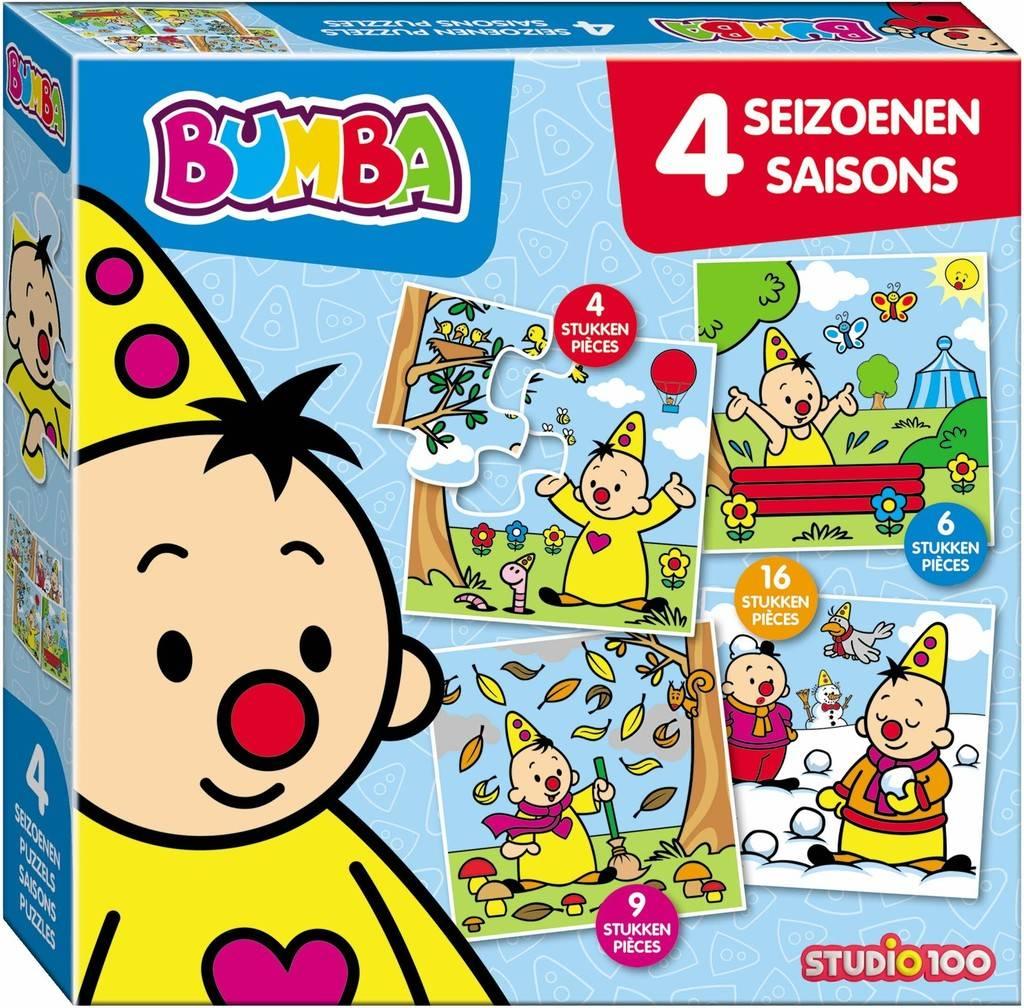 STUDIO100 Bumba 4 Seasons Puzzle