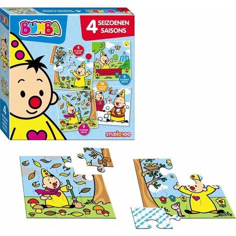 Bumba Puzzle - Saisons 4 en 1