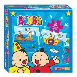 STUDIO 100 Bumba Sea Puzzle Train