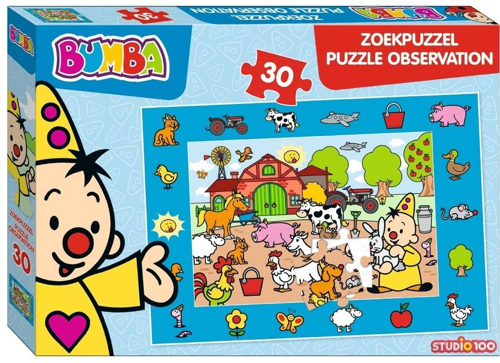 Bumba puzzel 30 stukjes