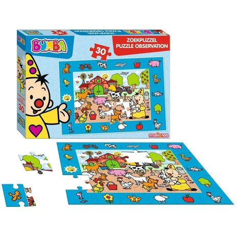 Bumba Puzzle - 30 pièces