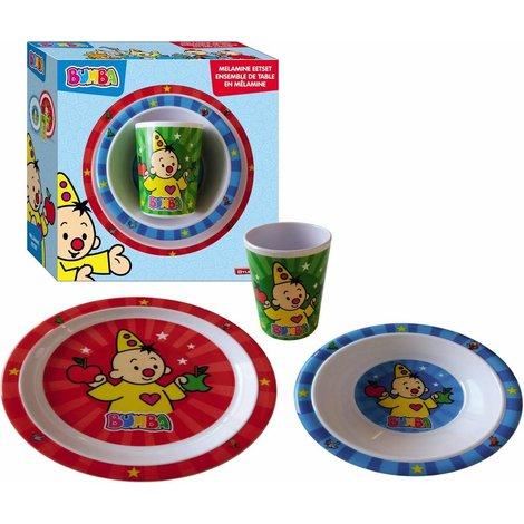 Set de vaisselle Bumba- 3 pièces