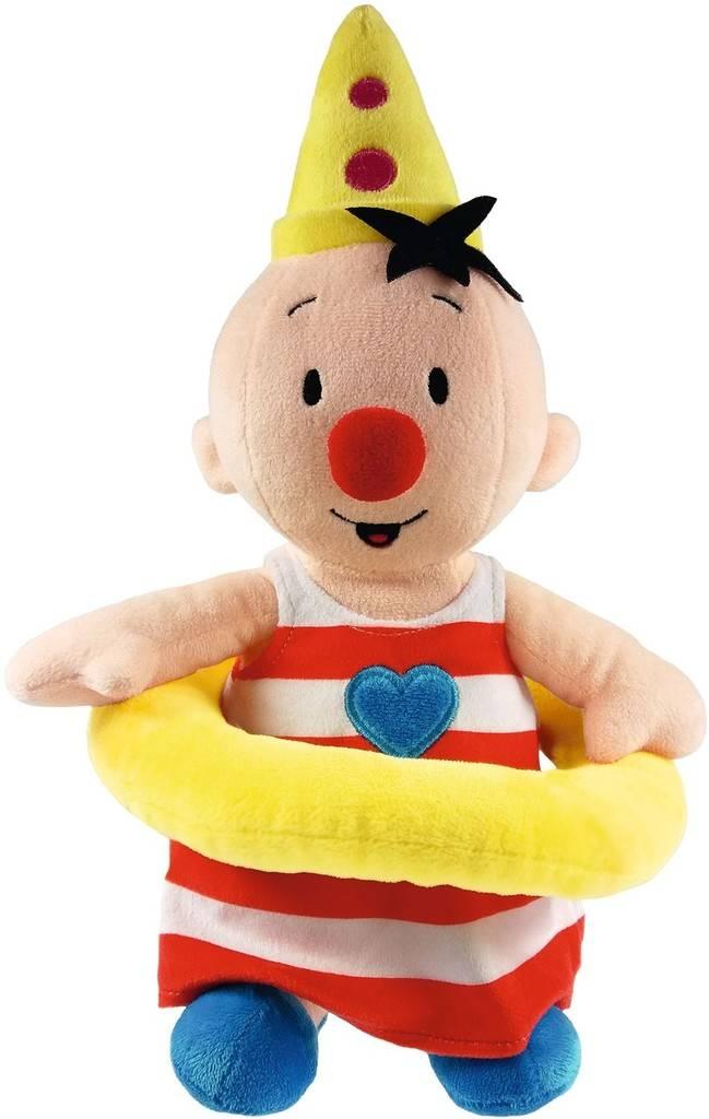 Bumba Pluche knuffel - Bumba met zwemband 30 cm