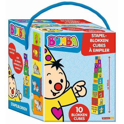 Cubes à empiler Bumba