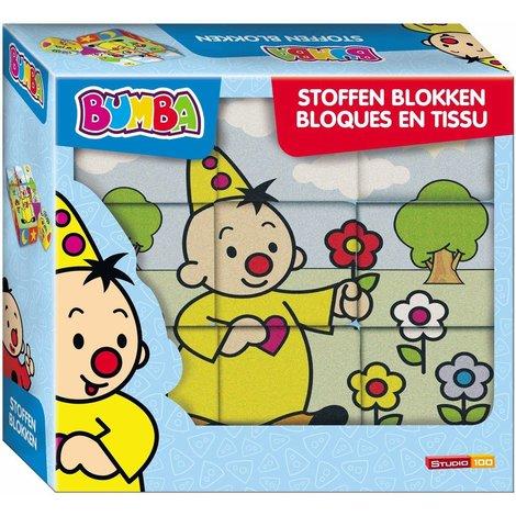 Blocs en tissu Bumba - 9 pièces