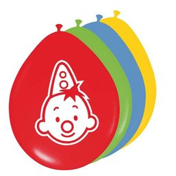 Clown Bumba, Balloons Pack Of 8