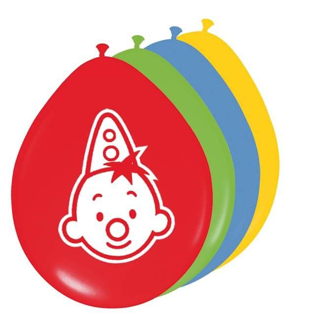 Clown Bumba, Balloons Pack Of 8