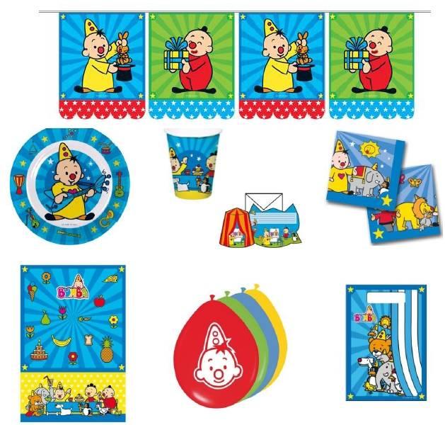 Bumba Kit de fête - 62 pièces