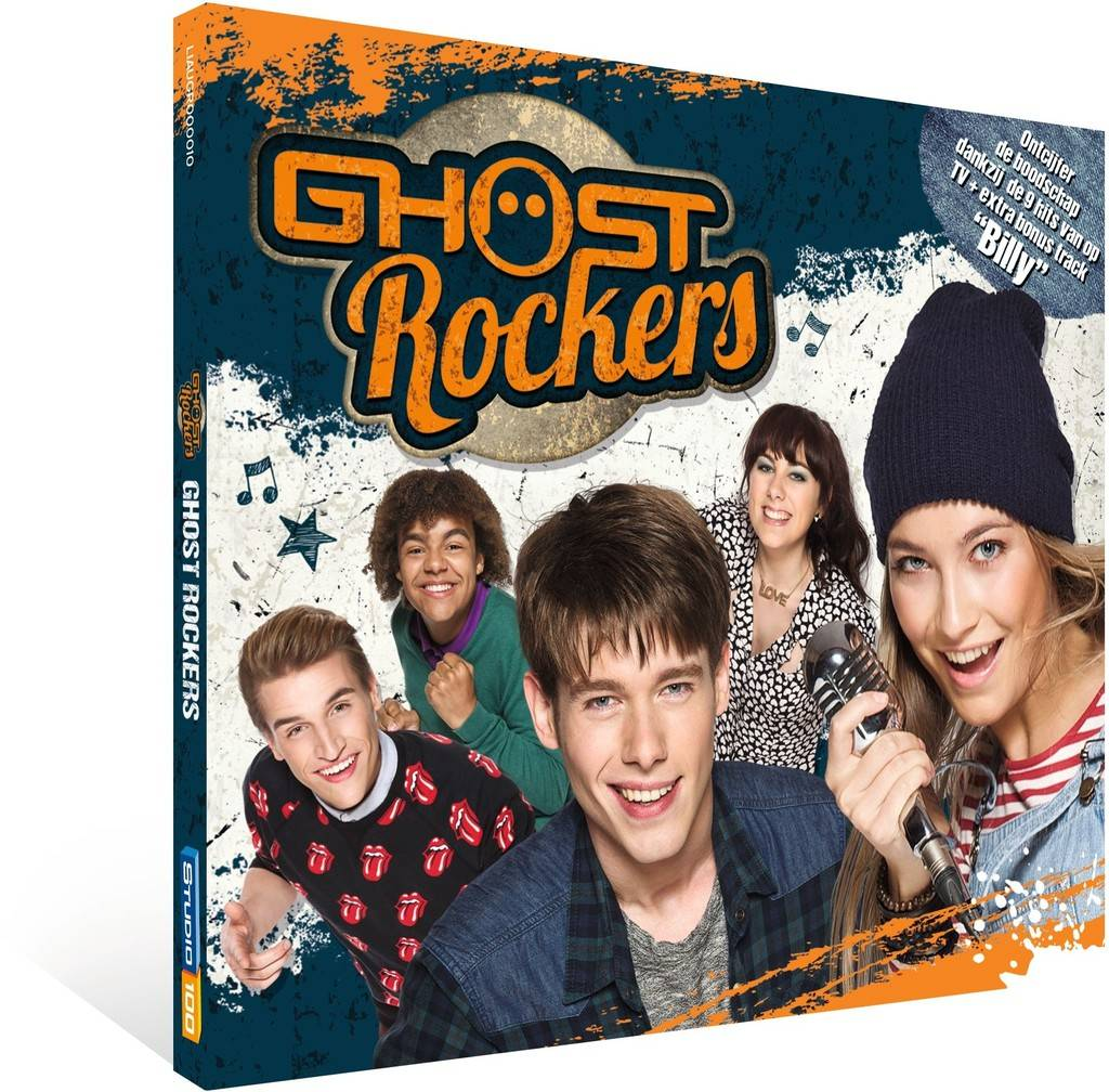 Ghost Rockers CD- Gillende gitaren