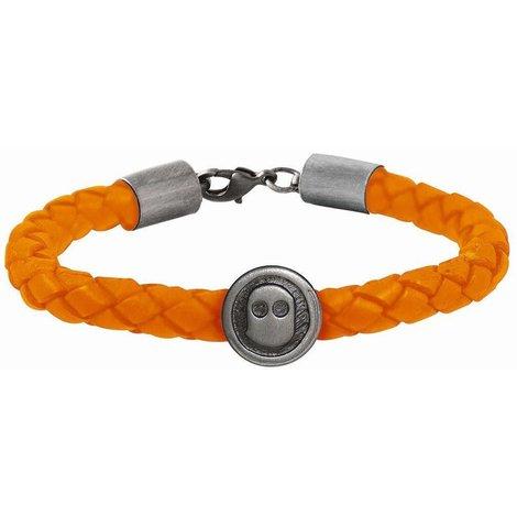 Ghost Rockers Armband gevlochten oranje