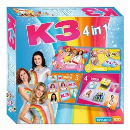 K3 Spel 4 in 1