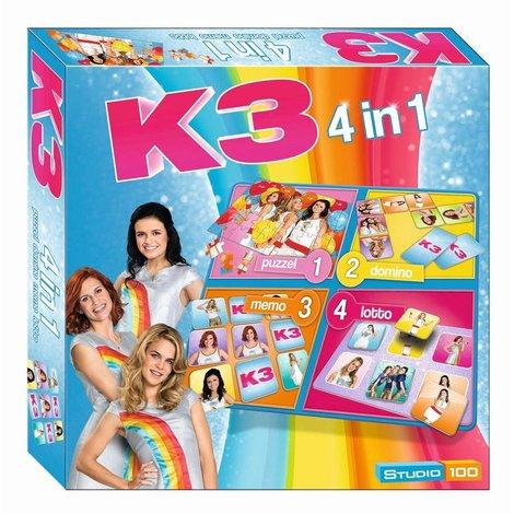 K3 4 in 1 spel