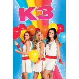 K3 Poster ballonnen 61x92 cm