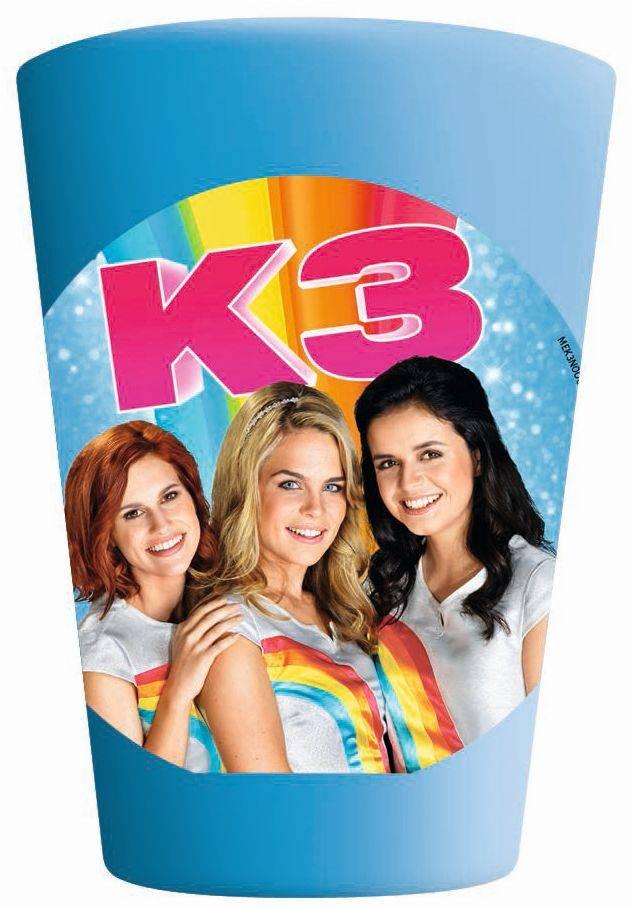 K3 Beker frosted
