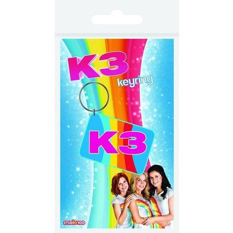 K3 rubbere Sleutelhanger