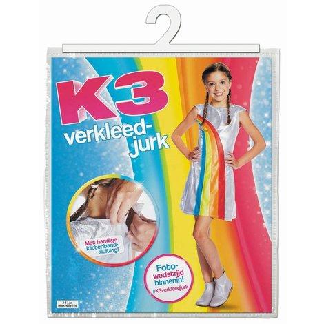 K3 Verkleedjurk - Regenboog