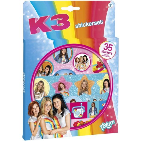 Kit d'autocollants K3