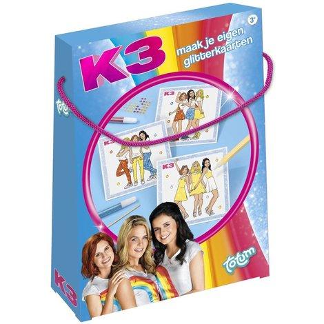 K3 Glitterkaarten