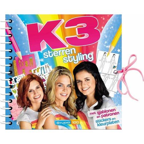 K3 Doeboek Sterrenstyling