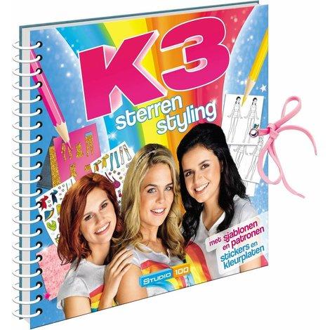 Livre d'activités K3 - Star du style