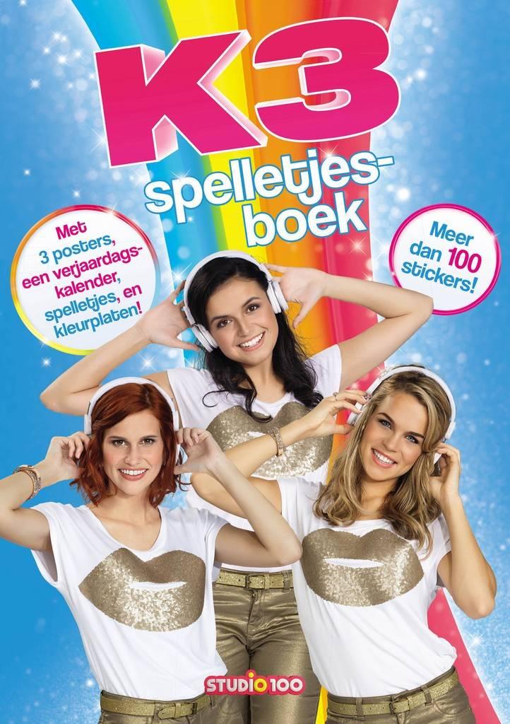 K3 Spelletjesboek met stickers
