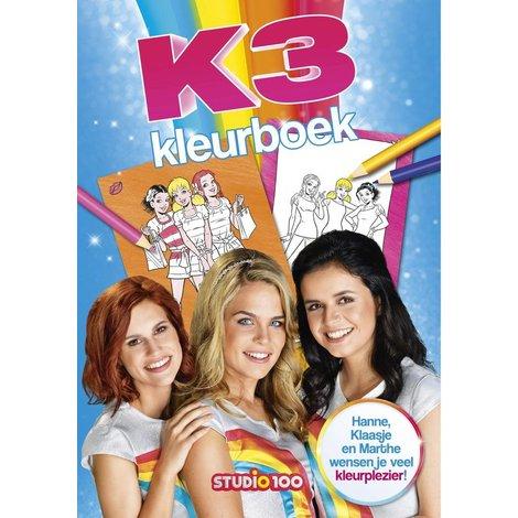 Livre de coloriages K3