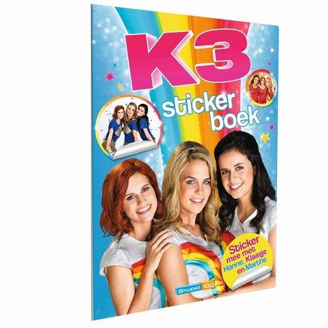 Album d'autocollants les nouvelles K3