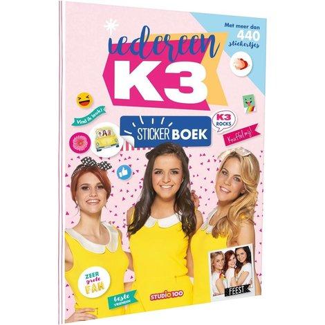 Album d'autocollants K3