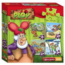 Plop Puzzle 4 en 1